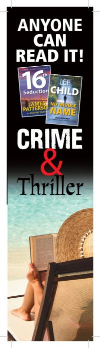 Crime & Thriller Bookmark