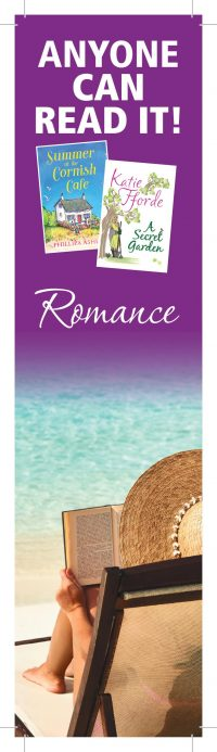 Anyone Can Read It – Romance Bookmark