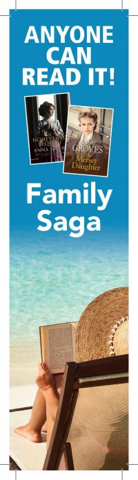 Anyone Can Read It – Family Saga Bookmark