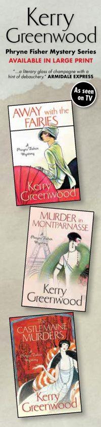 Kerry Greenwood Bookmarks
