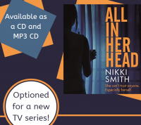 All in Her Head by Nikki Smith Library Poster