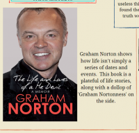 Celebration of Graham Norton Library Poster