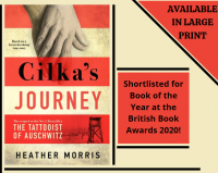 Cilka's Journey by Heather Morris Library Poster