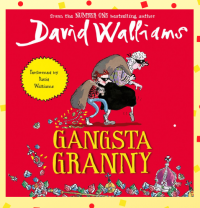 Gangsta Granny by David Walliams Library Poster
