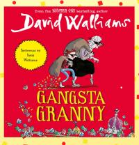 Gangsta Granny by David Walliams Library Poster