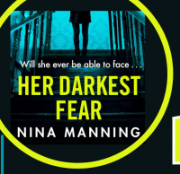 Her Darkest Fear by Nina Manning Library Poster
