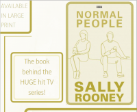 Normal People by Sally Rooney Library Poster