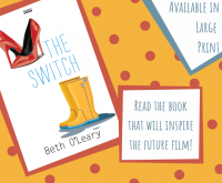 The Switch by Beth O'Leary Library Poster