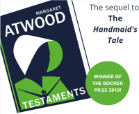 The Testaments by Margaret Atwood Library Poster