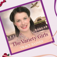The Variety Girls by Tracy Baines Library Poster