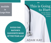 This Is Going to Hurt by Adam Kay Library Poster