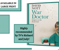 War Doctor by David Nott Library Poster