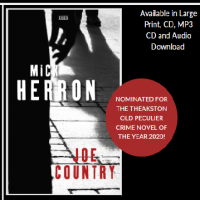 Joe Country by Mick Herron Library Poster