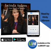 uLibrary Social Media Tiles for Jacinda Ardern: A New Kind of Leader