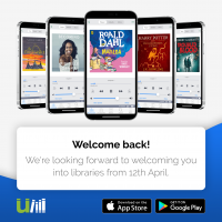 uLIBRARY Welcome Back to Libraries Tile
