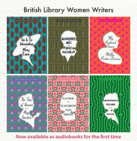 British Library Women Writers Library Poster